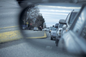 Avoid blind spots with proper use of your rear view mirrors
