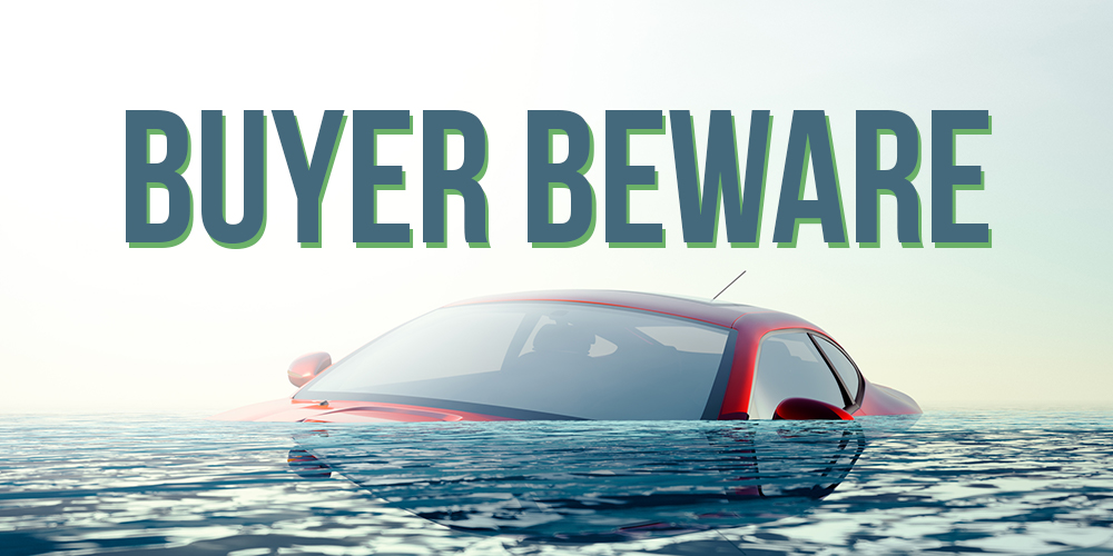 BUYER BEWARE: Warning Signs of a Flooded Vehicle