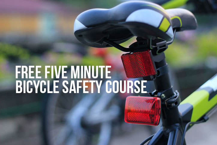 5-Minute Bicycle Safety Course May Save Your Life