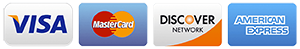 Mastercard Discover American Express and Visa are Accepted by DriveSafe Online