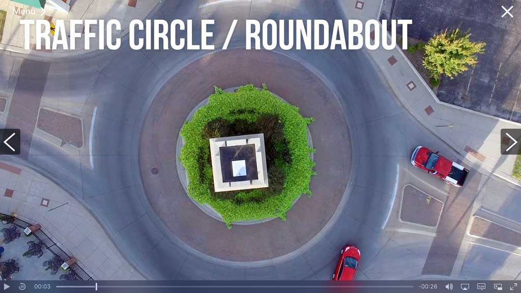 Massachusetts Course Example: Traffic Circles and Roundabouts