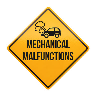 Defensive driving course details include motor vehicles and mechanical malfunctions..