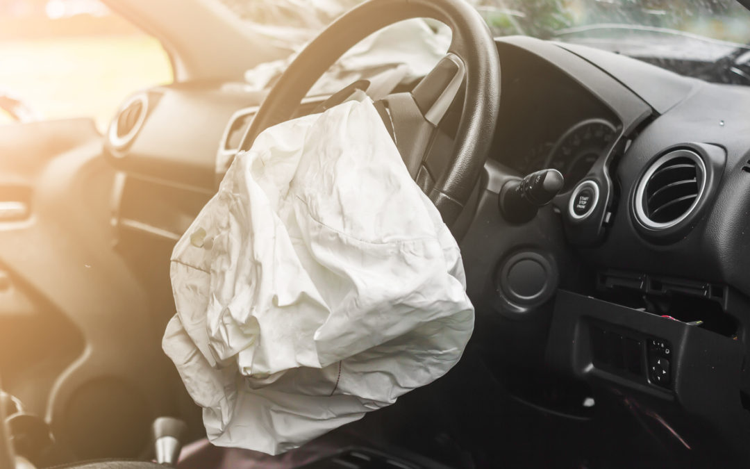 Your average car has seven air bags to protect passengers from all angles.