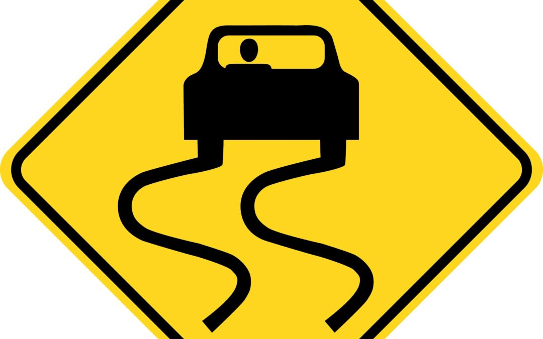 The Slippery When Wet Road Sign